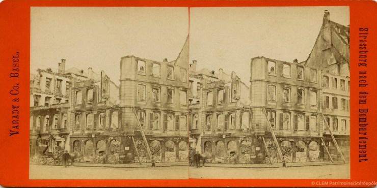 Strasbourg Guerre de 1870 Varady & Co.