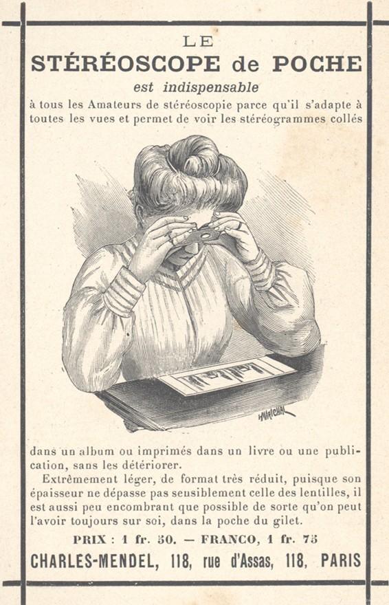 images stéréoscopiques stéréoscope de poche 1915