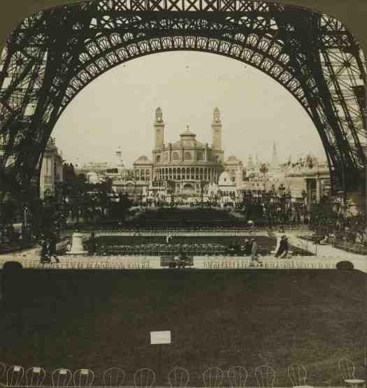 Vue sur l'ancien palais du Trocadéro