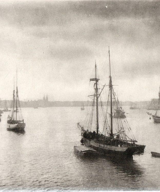 Port de Bordeaux photographie Théodore Guitard du Marès