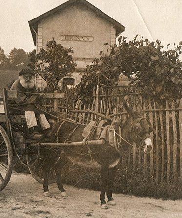 Photographie Théodore Guitard du Marès gare de Lignan