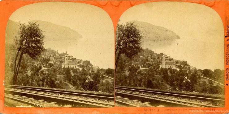 Images stéréoscopiques Garcin Auguste Vitznau