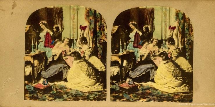 Images stéréoscopiques H.M. James Elliott