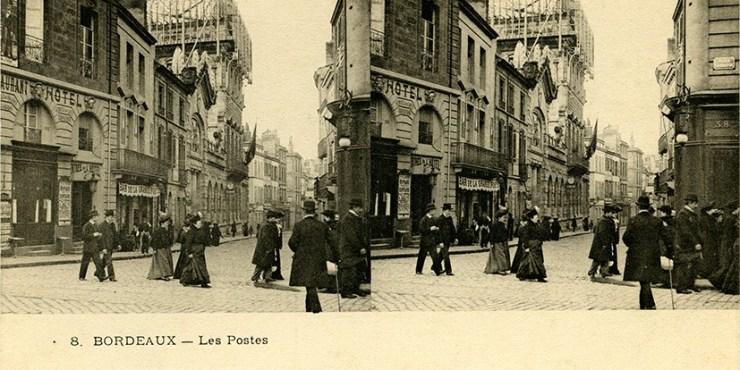 Images stéréoscopiques e Deley Ernest-Louis-Désiré Bordeaux Nouvelle poste