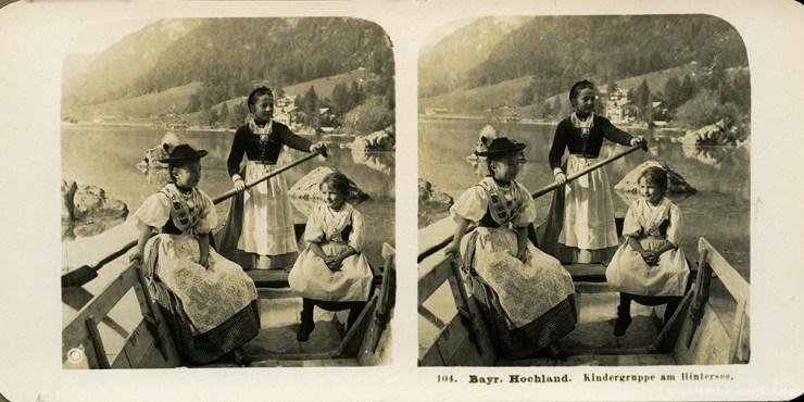 Images stéréoscopiques Neue Photographische Gesellschaft Bayerisches Hochland