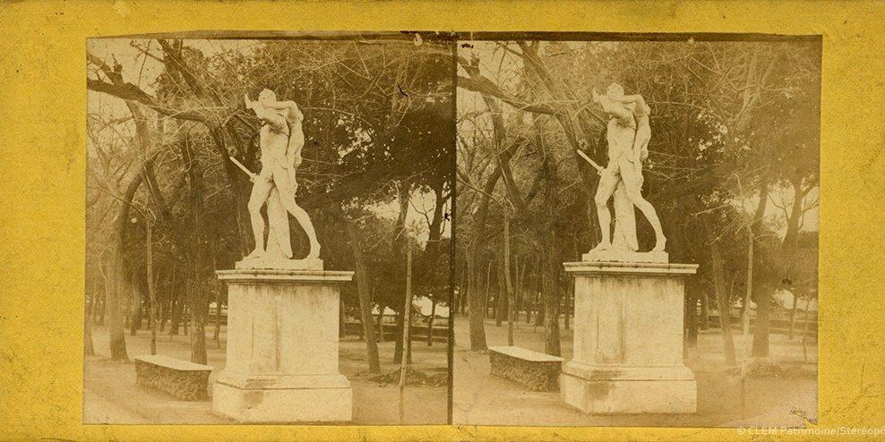 images stéréoscopiques Léonard de Saint-Germain Littoral de la Méditerranée Naples