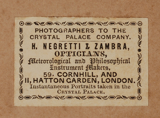 Negretti & Zambra optician Corhill London