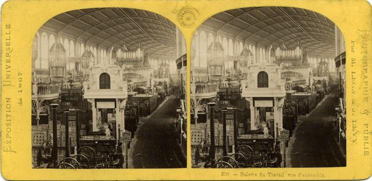 Images stéréoscopiques Archives nationales Exposition Universelle 1867 Léon et Lévy 674 F/12/11893