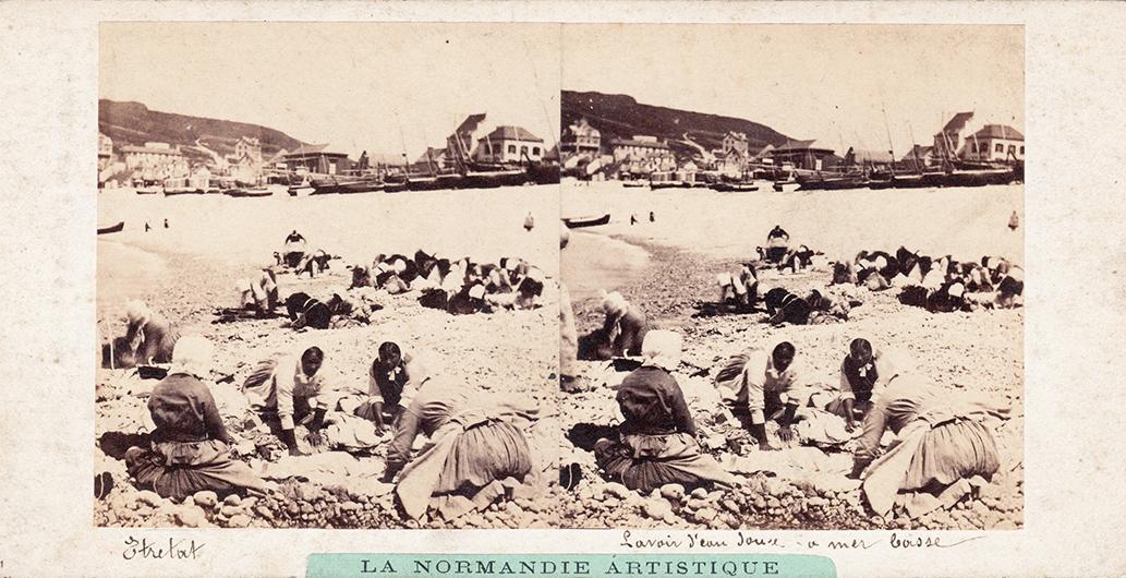 Images stéréoscopiques Furne et Tournier Normandie artistique