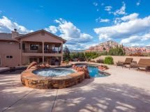private pool & spa.red rock