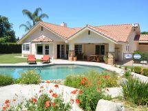 bright and beautiful pool home