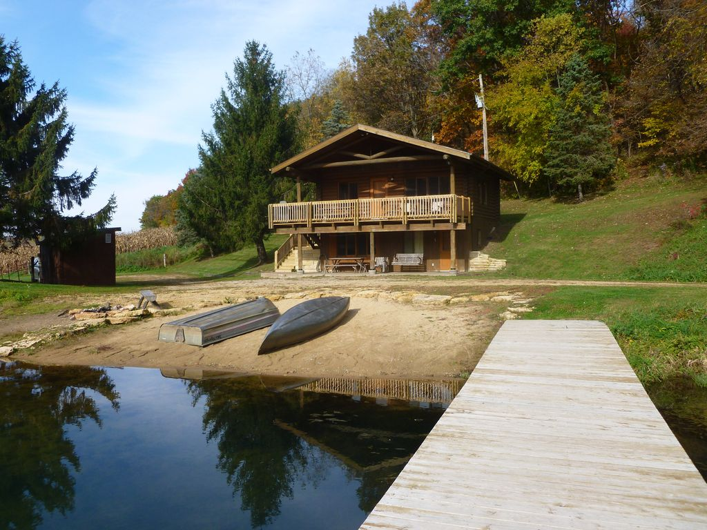Cabin On The Lake Is Your Own Hideaway On A  VRBO