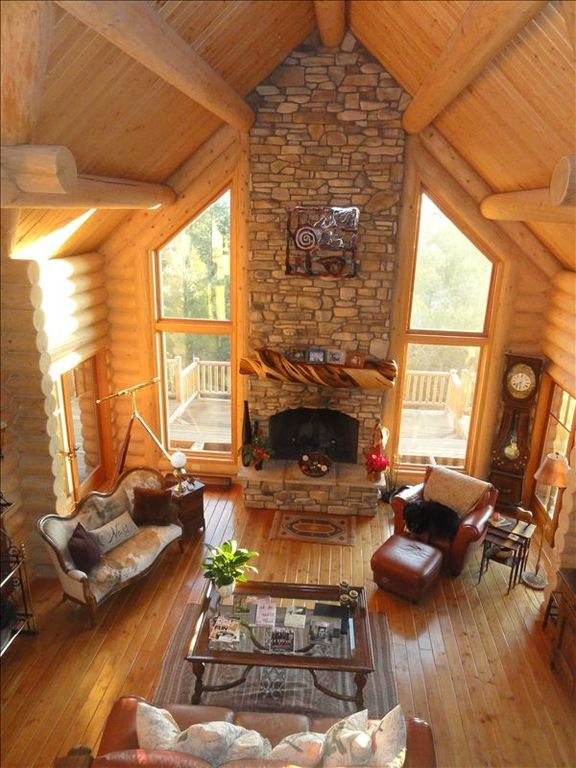 Unique, Gorgeous, Large, $1M Family Loghome @...
