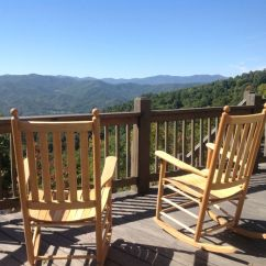 Troutman Rocking Chairs Relax The Back Office Is There A Better View In House Surrounded Vrbo