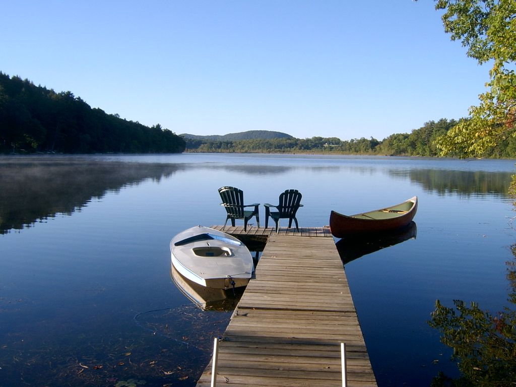 Charming Lakefront Cottage Boat Swim  HomeAway Taconic