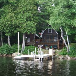 Fishing Chair Bed Reviews Spandex Cover Rentals Private Lakefront Cabin Mt. Vernon Maine - Vrbo