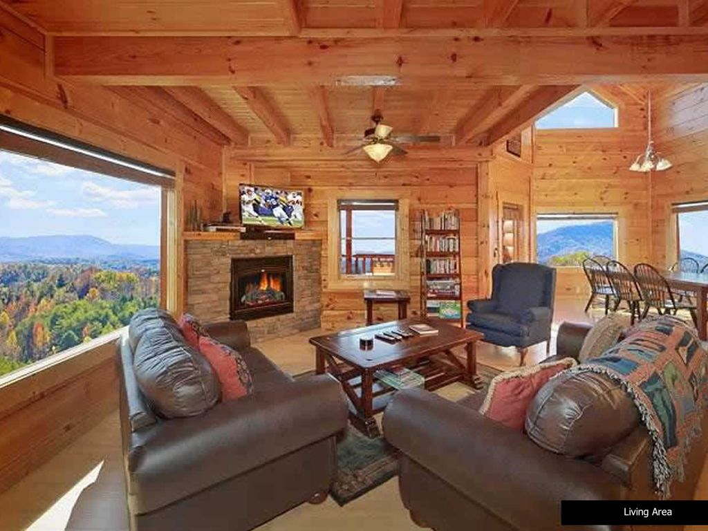 Luxury Cabin overlooking the Smoky Mountains  VRBO
