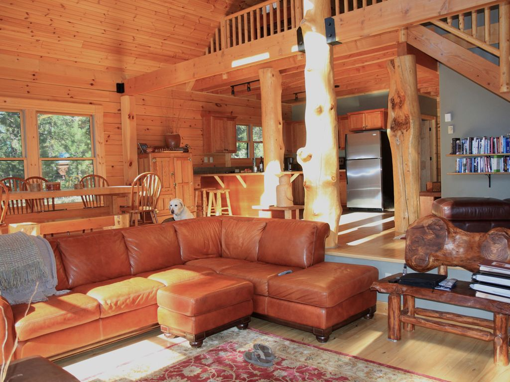 The stereotype of luxury LOG CABIN  VRBO