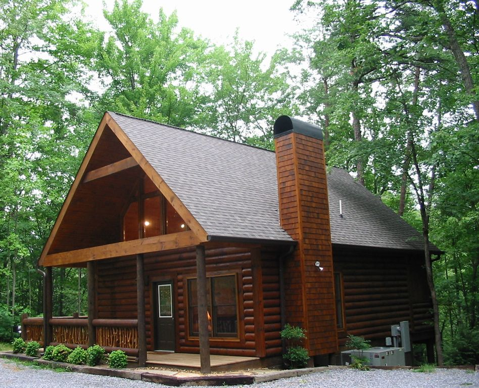 Luxury Private Log Cabin Right Outside the G  VRBO