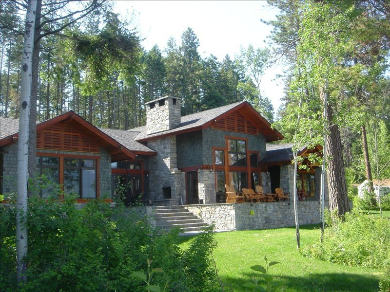 The Most Beautiful House On Flathead Lake