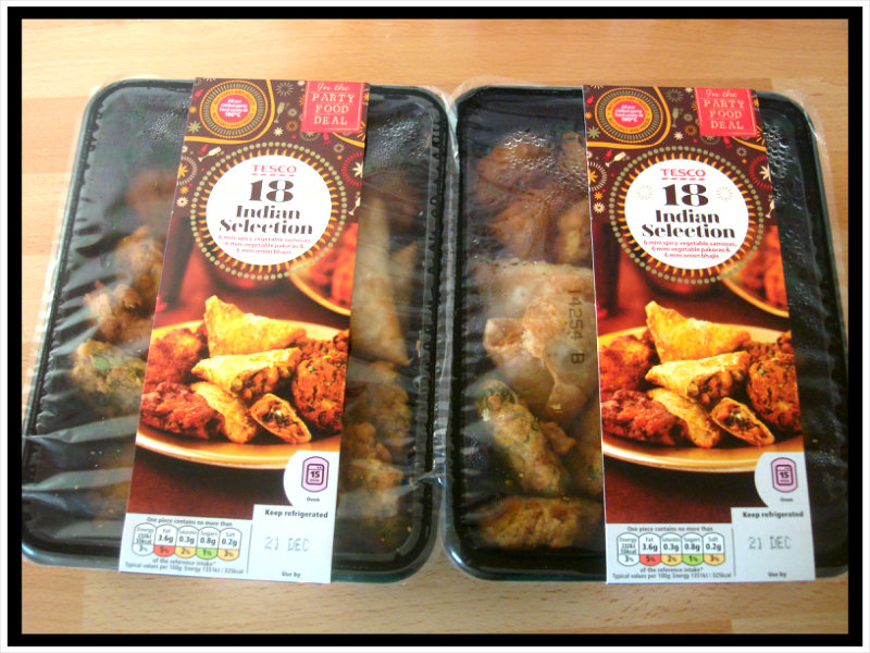 Tesco 18 Indian Selection Party Food Review Silkyreshs