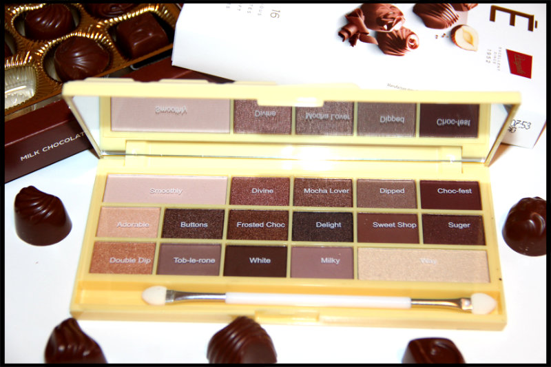 Makeup Revolution Naked Chocolate Eyeshadow Palette Review/Swatch (4/6)