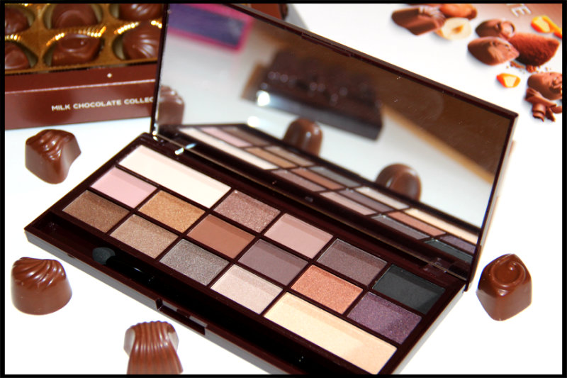 Makeup Revolution I ♡ Makeup Death By Chocolate Review/Swatch (4/6)