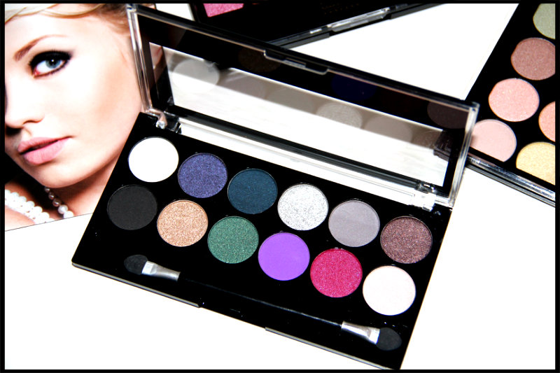 MUA Glamour Nights Eyeshadow Palette Review/Swatch (3/6)
