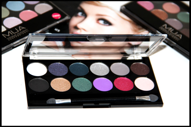 MUA Glamour Nights Eyeshadow Palette Review/Swatch (2/6)