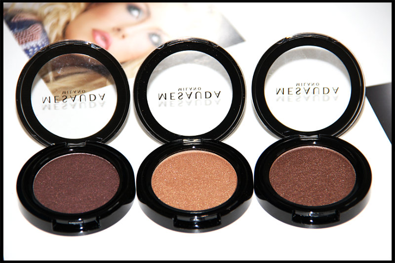 Mesauda Milano Cosmetics Pure Shadows In Pearly Compact Eyeshadows Review/Swatch (1/6)