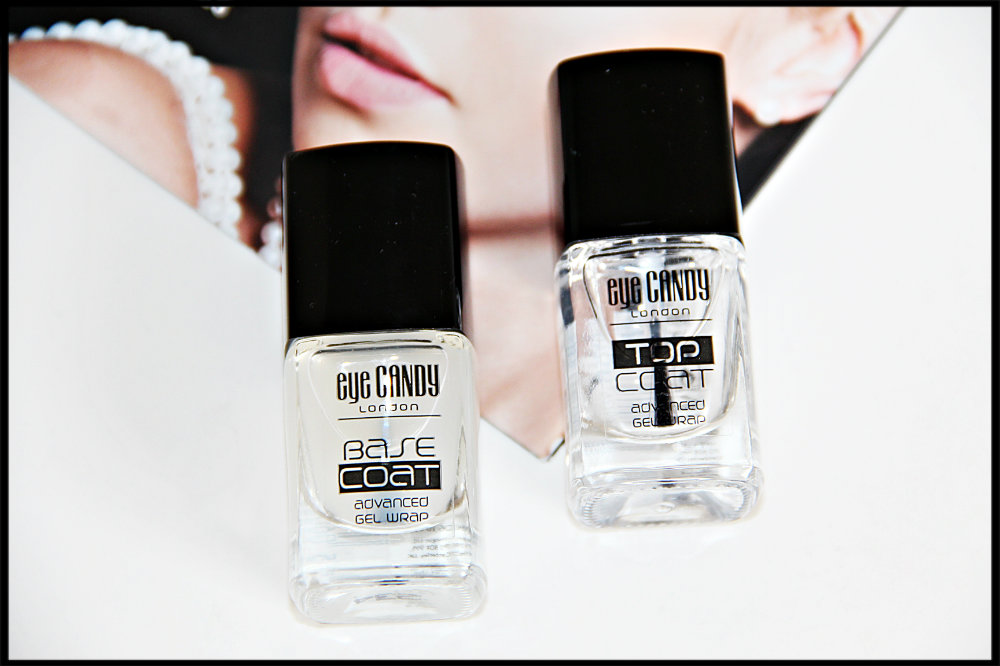Eyecandy Gel Wrap System Base Coat And Top Coat Review