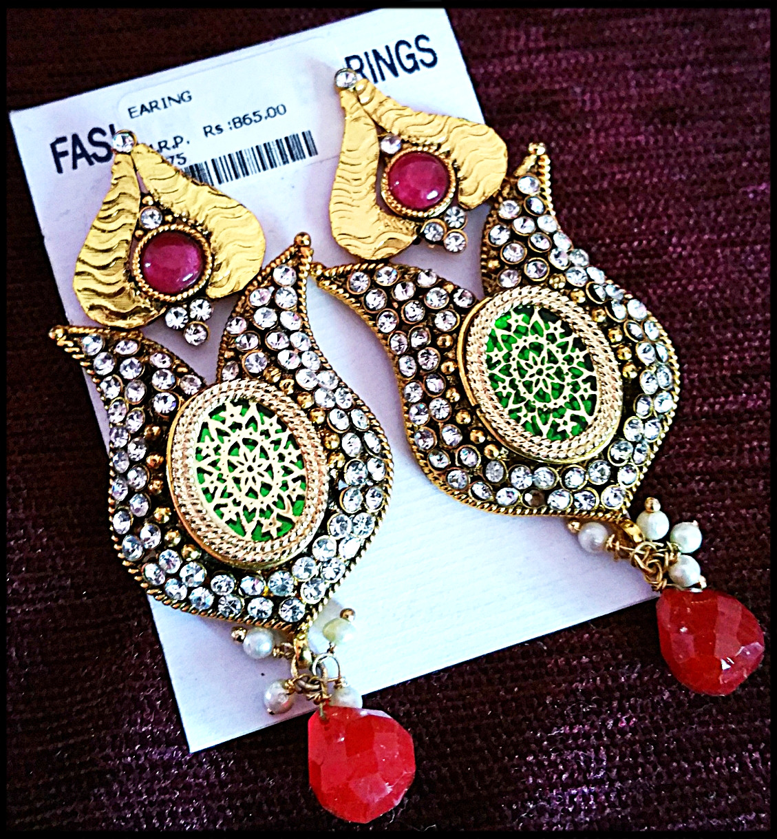 plated earrings buying temple indian gold jhumka and antique jewellery quality online good