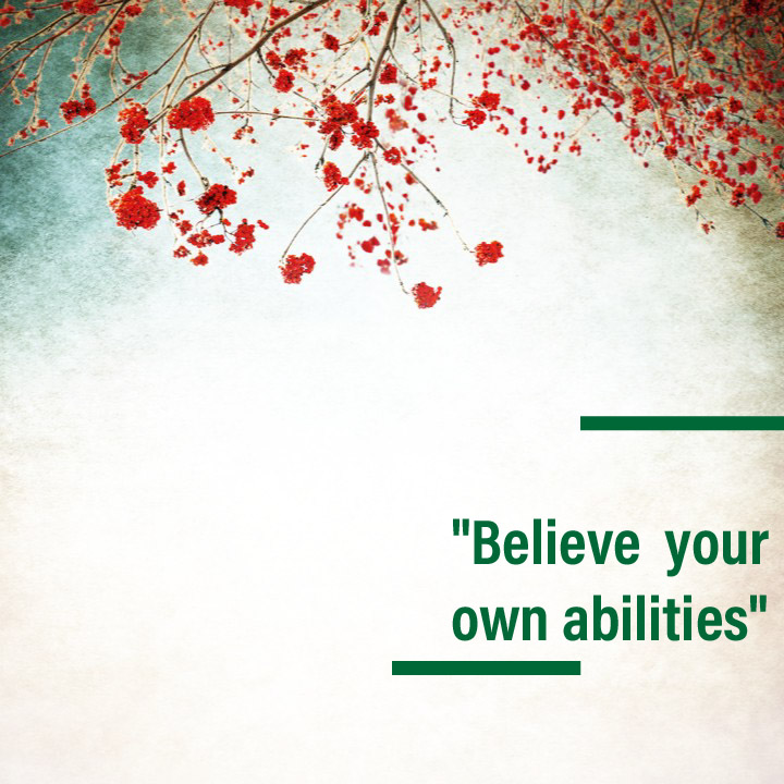 quotes about own abilities