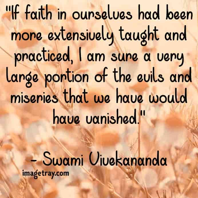the swami Vivekananda quotes with images