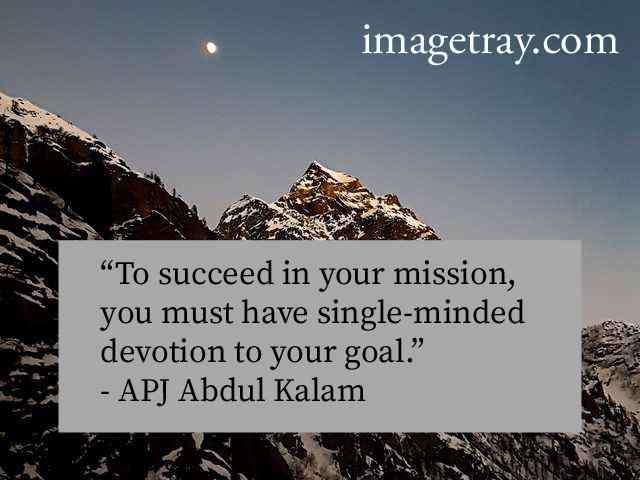 abdul kalam images with quotes