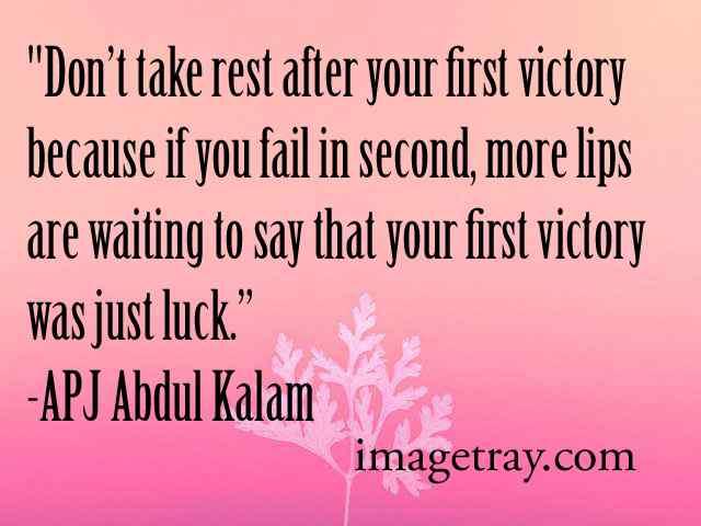 abdul kalam quotes oh hard work