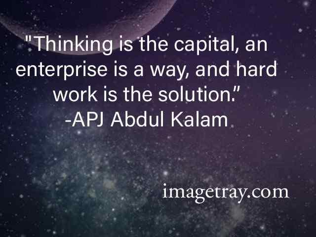 good thinking with hardwork