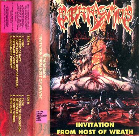 Sparagmos - Invitation from Host of Wrath / Mortal Organic Remains (2020) [FLAC] Download