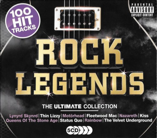VA - Rock Legends The Ultimate Collection (2018) [FLAC] Download