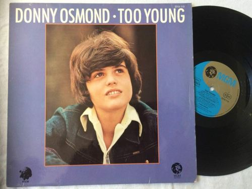 Donny Osmond - Too Young (1972) [FLAC] Download