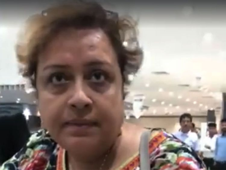 Indian Woman In Mall Calls For Rape Of Girls For Wearing Short Dresses Video Goes Viral