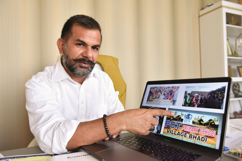 Joginder Singh Salaria shows us PCT Humanity's projects in Pakistan