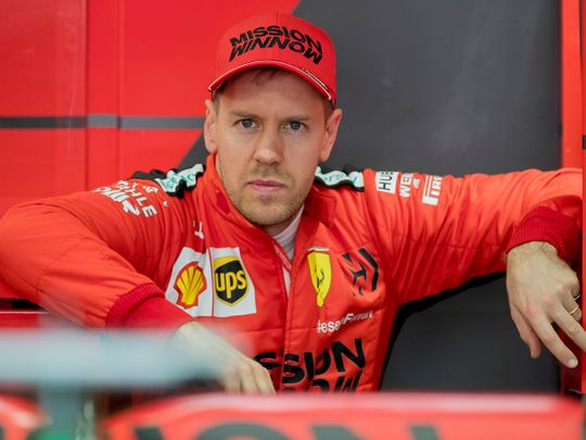 Formula One: Sebastian Vettel to leave Ferrari at end of the year ...