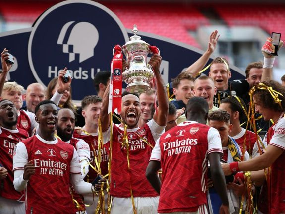 English FA Cup final: Arsenal defeat Chelsea to win 14th title ...