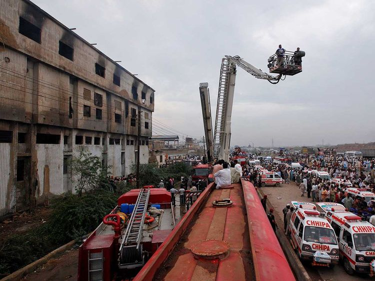 Pakistani court rules deadly 2012 blaze was arson, sentences two to death |  Pakistan – Gulf News