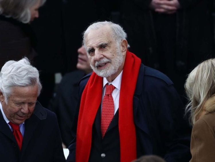 Carl Icahn, The Richest stock investors in the world