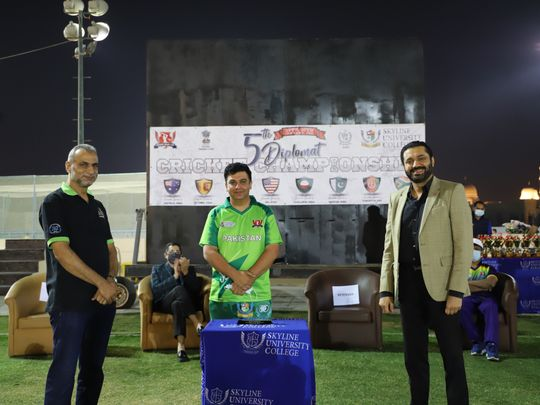 Pakistani Consulate wins Diplomatic Cricket Championship in Sharjah