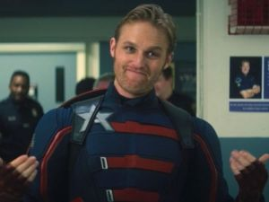 Wyatt Russell's new Cap had been rumored for Chris Evans 'role in the original' Captain America '