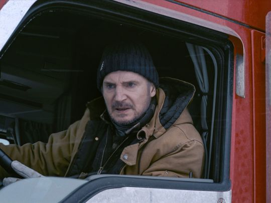 Movie Review of 'Ice Road': Liam Neeson's Back and Fighting on Thin Ice (Literally)