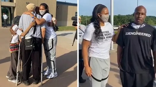 WNBA's Maya Moore Marries Jonathan Irons, Man She Helped Free from Prison 2